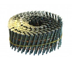 "2-1/4"" x .113 Screw Shank Wire Coil Nails"