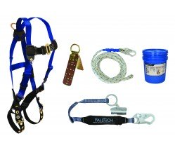 FallTech 8595A Roofers Fall Protection Kit