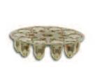 Powers 50534 .25 Caliber Green Disc Load
