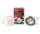 SAS Safety 8641 P100 Particulate Respirator with Valve (2 Pack)