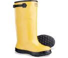 SLB9 Yellow Rubber Work Boot Size 9