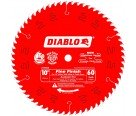 "Diablo D1060X 10"" x 60T Fine Finish Saw Blade"