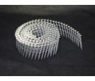 "1-1/2"" x .145 Knurled Shank 15 Deg Wire Coil Ballistic Pin"