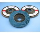 Flexovit 31324 4-1/2 x 7/8 Type 29 Flap Disc, 60g. Zirconia