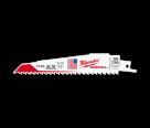 "Milwaukee 48005021 6"" x 6TPI Ax Sawzall Recip Blades"