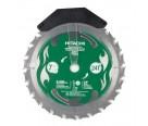 """Hitachi 115429 7-1/4"""" x 24T Framing Circular Saw Blade w/ Tungsten Tip"""